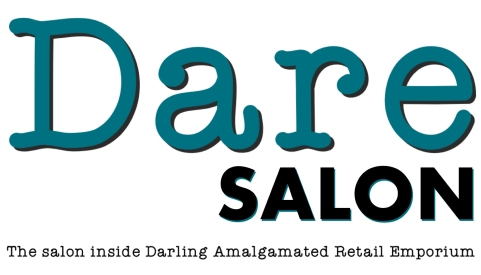dare salon logo extended